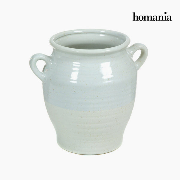 Ceramic vase with handles by Homania