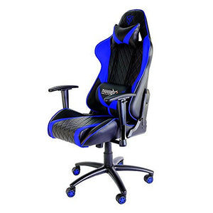Gaming Chair Tacens THUNDERX3 TGC15BB Metal PVC Black Blue