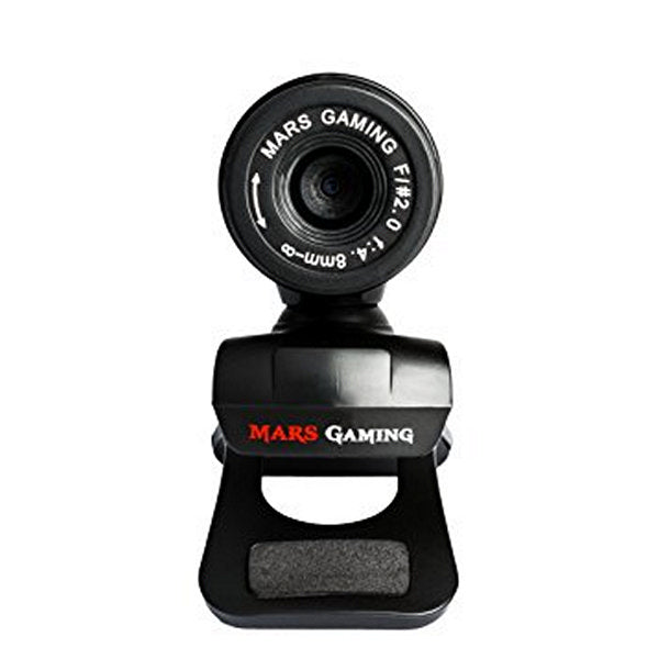 Gaming webcam Tacens Mars MW1 HD 720p Clip Black