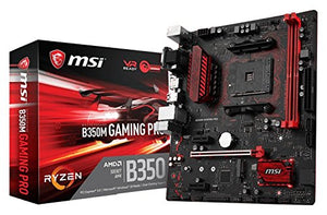Gaming Motherboard MSI B350 PRO CARBON ATX AM4