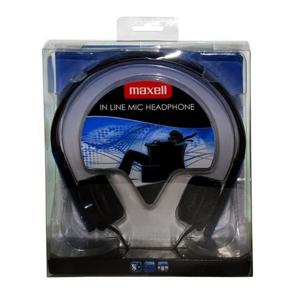Headphones with Microphone Maxell HP-MIC M410 Blue