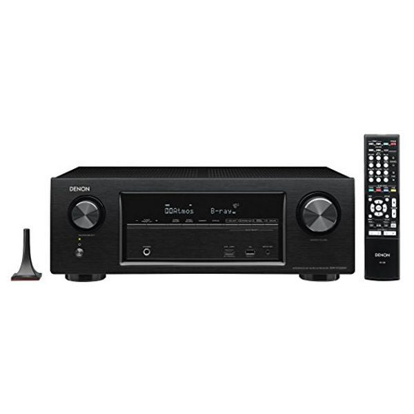 AV Receiver Denon AVR-X1300 145W 7.1 Surround 3D Black