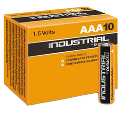 Alkaline Batteries DURACELL Industrial DURINDLR3C10 LR03 AAA 1.5V (10 pcs)