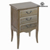 Side table with 3 drawers - Vintage Collection by Craftenwood