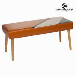 Archie upholstered bench by Craftenwood