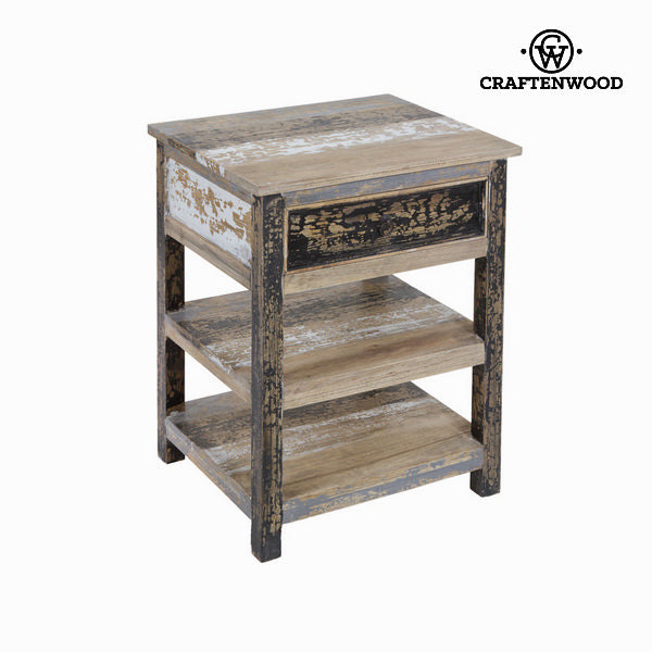 2 shelves stripped table - Poetic Collection by Craftenwood