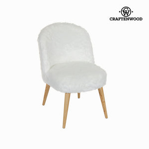 Curled back chair by Craftenwood