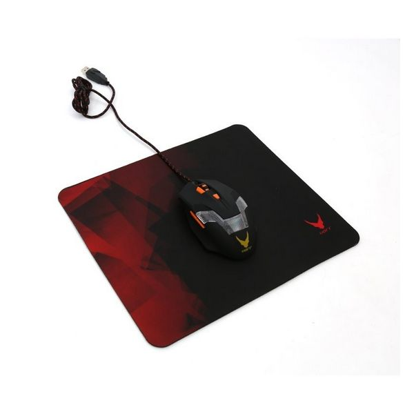 Gaming Mouse Mat Omega OVMP2529R 29 x 25 x 0,2 cm Red