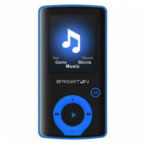"MP3 Player BRIGMTON BPA-81-A 1.8"" 8 GB Blue"