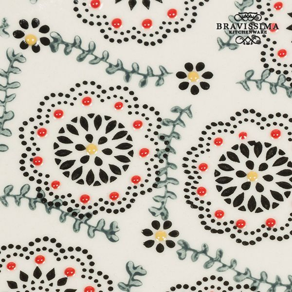 Tray Porcelain Retro flowers - Kitchen's Deco Collection by Bravissima Kitchen