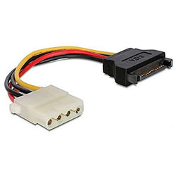 SATA Power Cable iggual APTAPC0463 IGG311769 0.15 m Molex