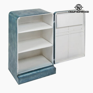 Shelves Iron Blue (55 x 47 x 89 cm) - Printed Collection by Craftenwood