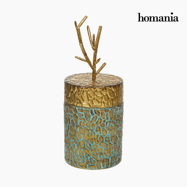 Box with cover Metal by Homania