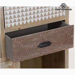 Shelves Fir wood Mdf (90 x 34,50 x 187 cm) - Be Yourself Collection by Craftenwood