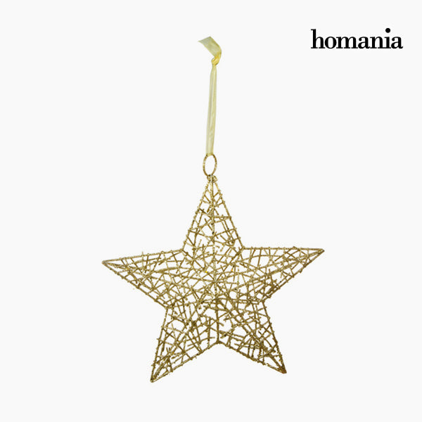 Christmas star Iron Gold by Homania