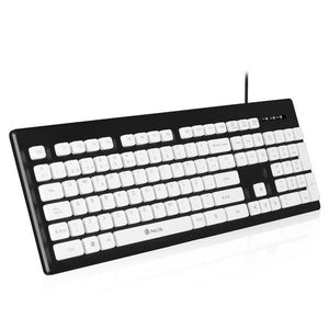 Keyboard NGS Clipper Black Spanish