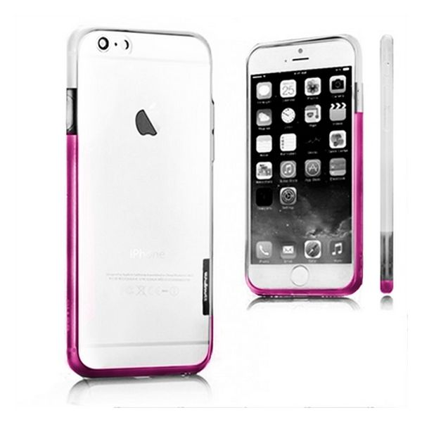 Bicolour Bumper iPhone 6 X-ONE 109925 White Pink