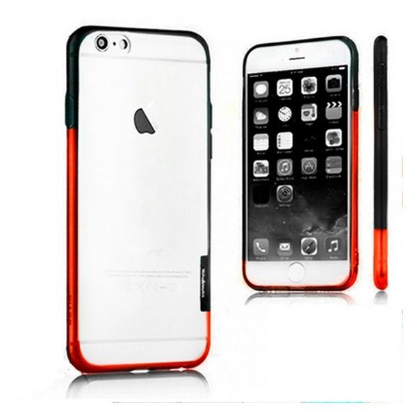 Bicolour Bumper Iphone 6 Plus X-ONE 109970 Black Orange