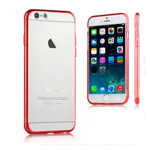 Case iPhone 6 Plus Ref. 110068 TPU Crystal Red