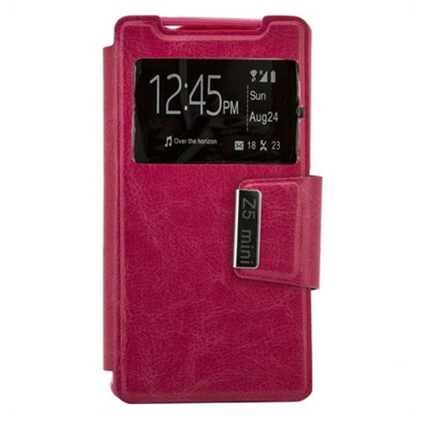 Book Case Ref. 87855 Sony Z5 Compact Pink