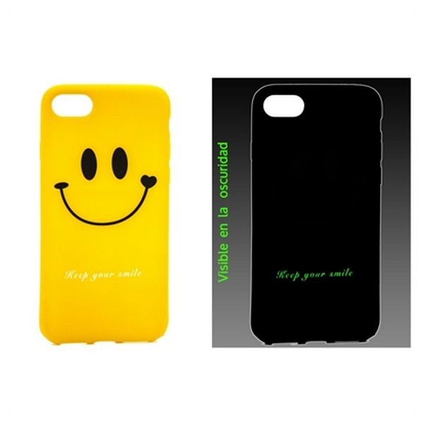 Mobile cover Ref. 188494 iPhone 7 TPU Emoji Fluorescent