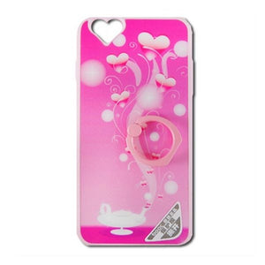 Case iPhone 6 Ref. 190947 TPU Ring, Hearts