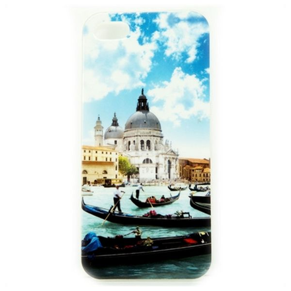 Mobile cover Ref. 191333 iPhone 5/5S/SE TPU Venezia