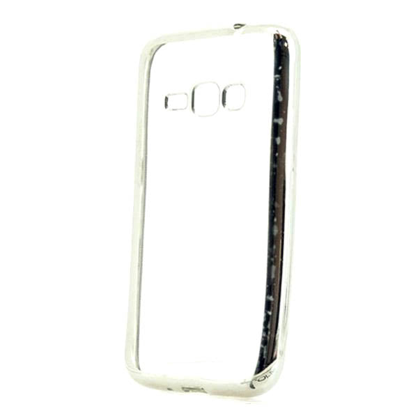 Case Samsung J1 Ref. 199179 TPU Metal Silver-covered