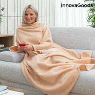 Single Sleeved Blanket with Central Pocket Faboulazy InnovaGoods
