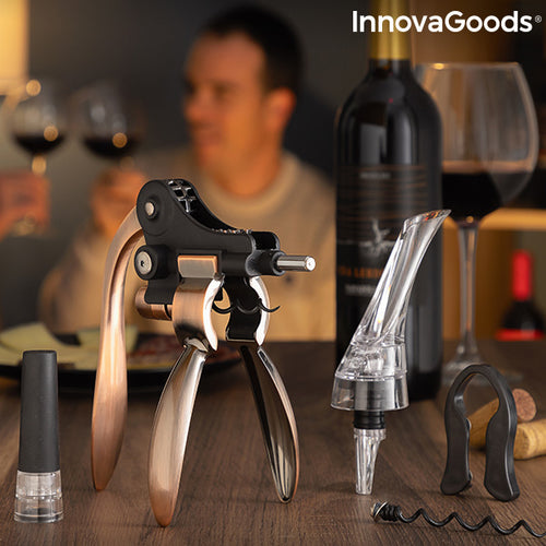 Set of Wine Accessories Servin InnovaGoods 5 Pieces