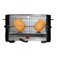 Toaster COMELEC TP-7713/7714 800W Black Inox