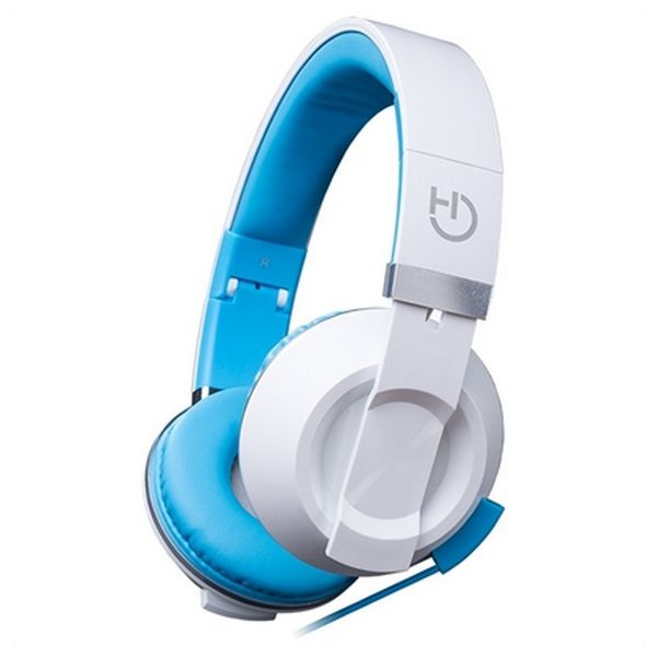 Headphones with Microphone Hiditec COOL KIDS WHP010005 Blue