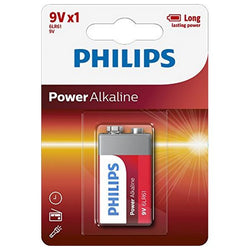 Alkaline Battery Philips 6LR61 9V