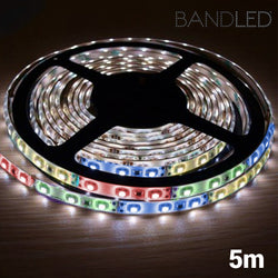 BandLed Multicolour LED Strip for Indoors and Outdoors (5 m + 60 LED)