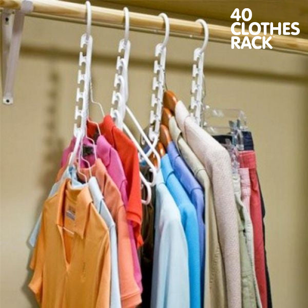Multi Hanger 40 Clothes Rack (8 Pack)