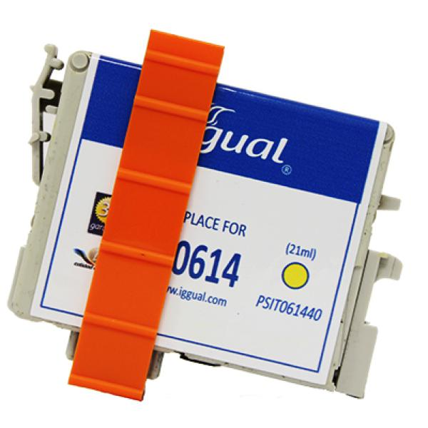 Recycled Ink Cartridge iggual Epson PSIT061440 Yellow