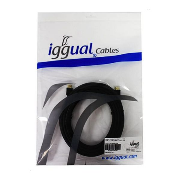 HDMI Cable iggual PSICC-HDMI4-10 V 1.4 10 m Black