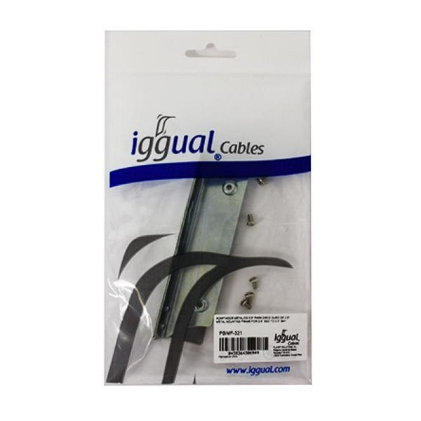 "2.5"" to 3.5"" Metallic Hard Drive Adapter iggual PSIMF-321"