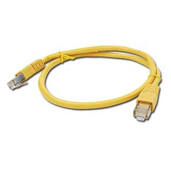 CAT 5e FTP Cable iggual IGG310335 0,5 m Yellow