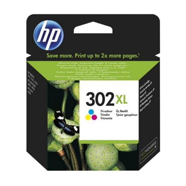 Original Ink Cartridge Hewlett Packard F6U67AE Tricolour