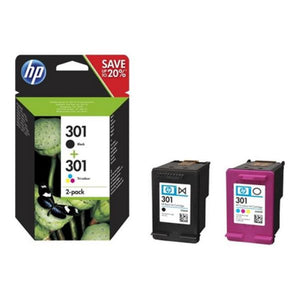 Original Ink Cartridge Hewlett Packard N9J72AE Tricolour Black
