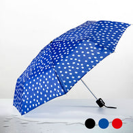 Polka Dot Folding Umbrella