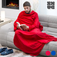 Extra Soft Snug Snug Kangoo Blanket with Sleeves for Adults