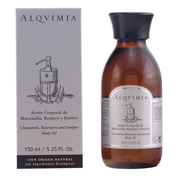 Alqvimia - BODY OIL camomile, rosemary & juniper 150 ml