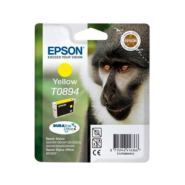 Original Ink Cartridge Epson C13T08944011 Yellow