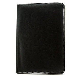 "Universal Rotating Leather Tablet Case Ref. 186933 10"" Black"