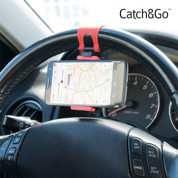 Catch & Go Steering Wheel Phone Holder