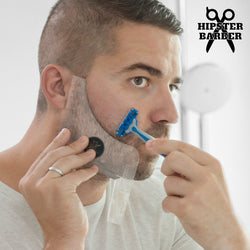 Beard Template Beard Mold with Shaving Combs