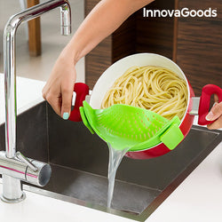 InnovaGoods Kitchen Foodies Silicone Strainer