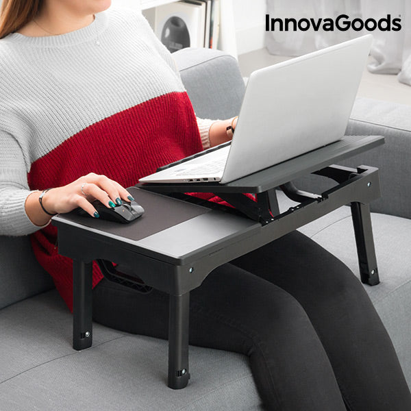 InnovaGoods Portable Table with LED